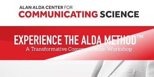 Alan Alda- Communicating Science Workshop