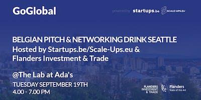 Belgian Pitch & Networking Drink Seattle