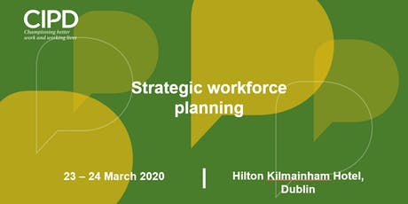 Strategic workforce planning tickets