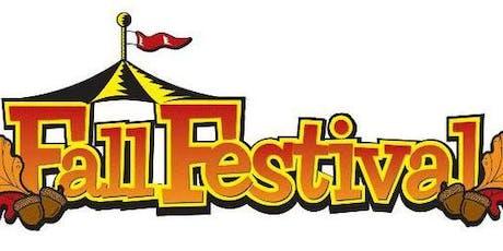 Fall Festival Vendor Page tickets