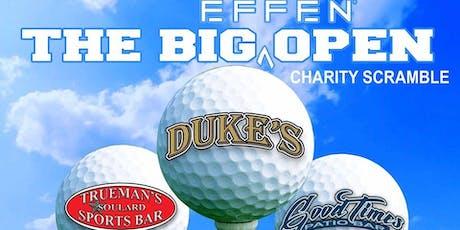 The Big Effen Open - Dukes, Trueman's & Goodtimes Saloon tickets