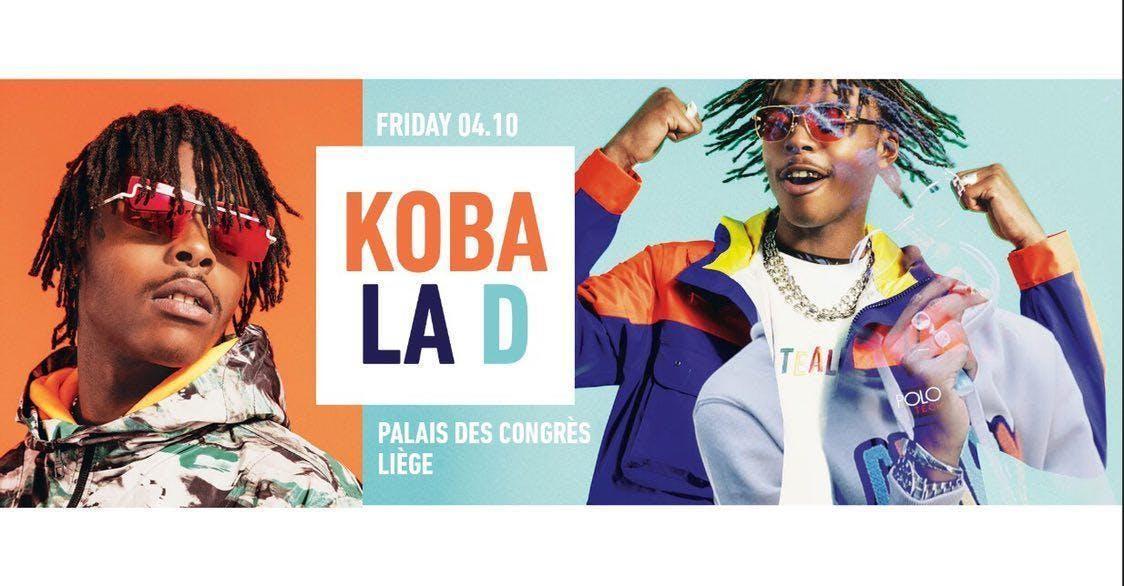 CREME DE LA CREME x KOBA LA D Live showcase x Palais des Congrès de Liège