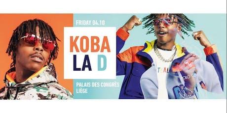CREME DE LA CREME x KOBA LA D Live showcase x Palais des Congrès de Liège  billets