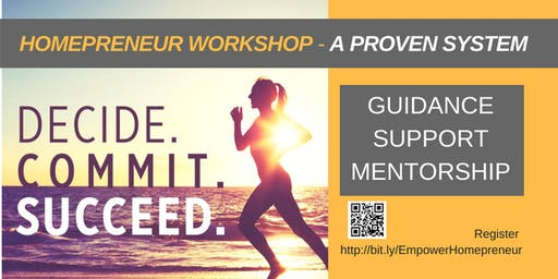 Homepreneur Workshop - Proven System (Cambodia)