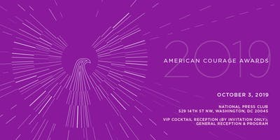 2019 AMERICAN COURAGE AWARDS