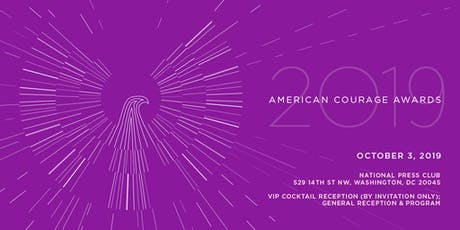 2019 AMERICAN COURAGE AWARDS tickets