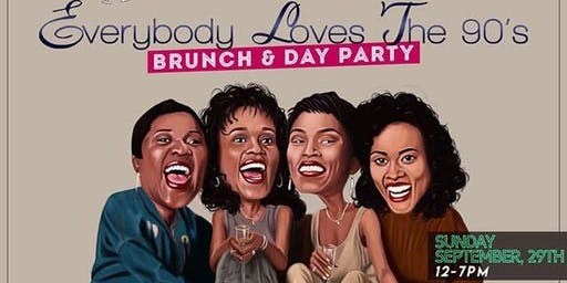Everybody Loves The 90's Bottomless Brunch & Day Party
