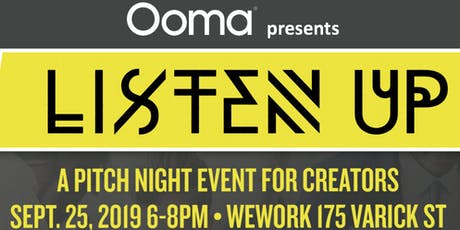 Pitch Night with Ooma Office for WeWork tickets