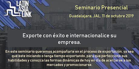 EXPORTE CON ÉXITO E INTERNACIONALICE SU EMPRESA entradas