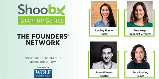 Shoobx Startup Series - The Founders' Network