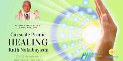 Curso de Pranic Healing (Cura Prânica) com Ruth Nakabayashi