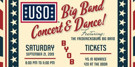 USO Big Band Concert featuring Fredericksburg Big Band tickets