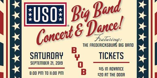 USO Big Band Concert featuring Fredericksburg Big Band