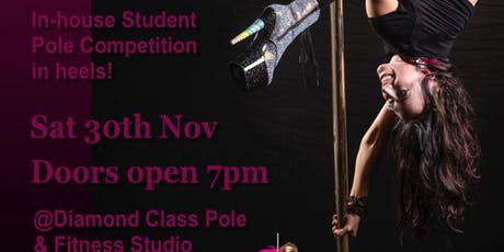 2019 Sparkle and Slay - Diamond Class in-house pole dance student competition tickets