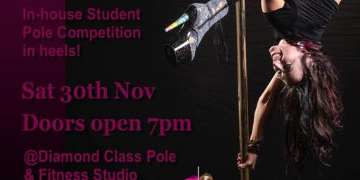 2019 Sparkle and Slay - Diamond Class in-house pole dance student competition