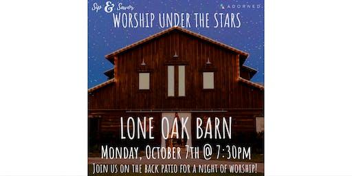 Sip & Savor: Worship Under the Stars