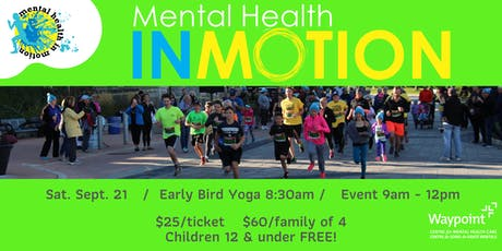 Mental Health In Motion tickets