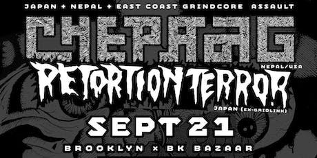 Retortion Terror // Chepang // Backslider // Special Guest tickets