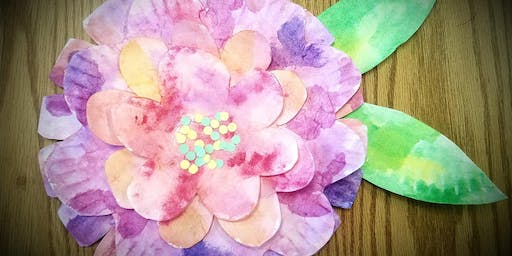 Art Exploration- Paper Flowers (Gr. K-5)