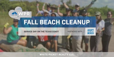 WPR Service Day! Texas Adopt-A-Beach 2019 Coastwide Fall Cleanup