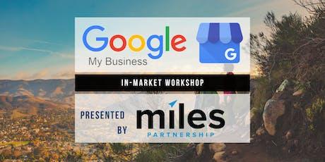 Google My Business Workshop - San Luis Obispo tickets