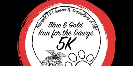 Blue & Gold Run for the Dawgs 5K tickets