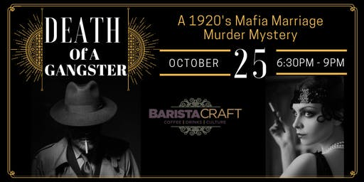 Murder Mystery 1920's Mafia Marriage