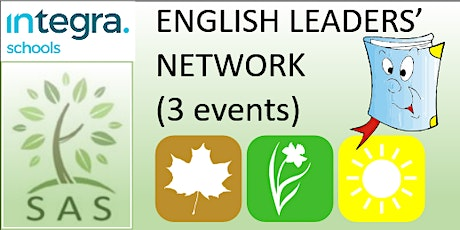 English Subject Leader Network (3 session course) tickets