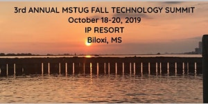 MSTUG 2019 Fall Technology Summit - Sponsorships