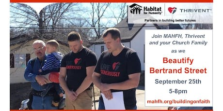 Beautify Bertrand - A Building on Faith Event tickets