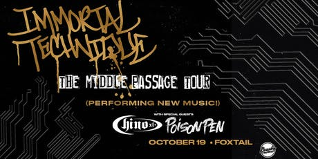 Immortal Technique - The Middle Passage Tour tickets