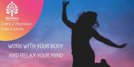 Ejercicios de liberación de estrés / Stress release exercises entradas