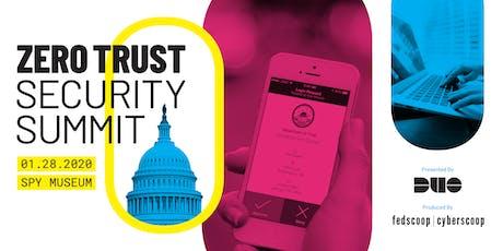 Zero Trust Security Summit 2019 tickets