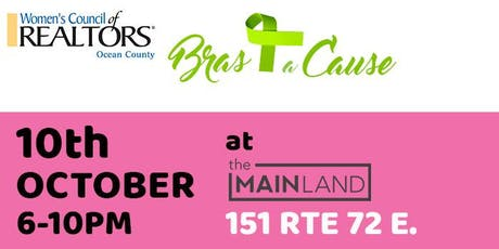 2019 Bras for a Cause WCR Ocean Network at the Mainland tickets