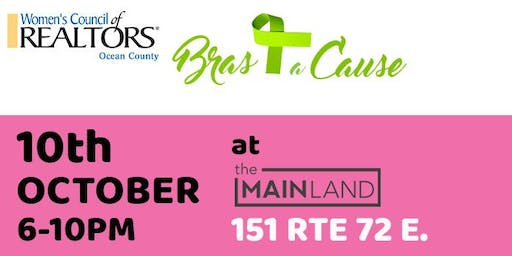2019 Bras for a Cause WCR Ocean Network at the Mainland