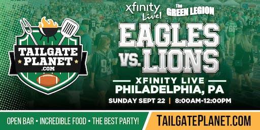 The Green Legion Tailgate – Eagles vs. Lions