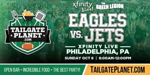 The Green Legion Tailgate – Eagles vs. Jets
