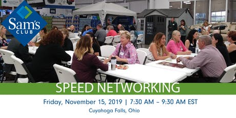 Speed Networking @ Sam's   Business Professionals in Cuyahoga Falls tickets