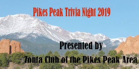 Zonta Pikes Peak Trivia Night 2019 tickets