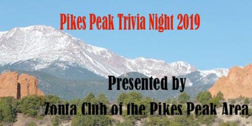 Zonta Pikes Peak Trivia Night 2019