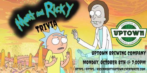 Rick & Morty Trivia at Uptown Brewing Company