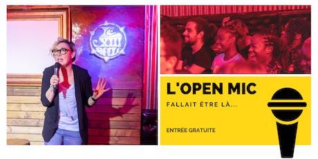 L'Open Mic de Lausanne - 27 Septembre tickets