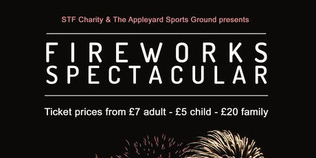 Sittingbourne Fireworks Spectacular 2019 tickets