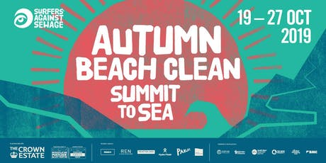Surfers Against Sewage - Autumn Beach Clean - LONDON 2019 tickets