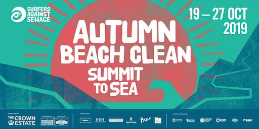 Surfers Against Sewage - Autumn Beach Clean - LONDON 2019