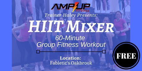 H.I.I.T. Mixer Group Fitness Class at Fabletics tickets