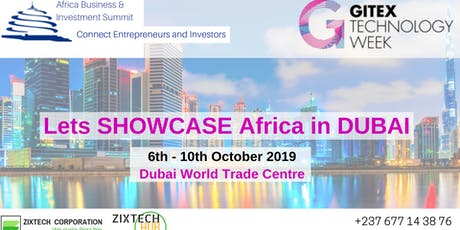 Africa meets GITEX 2019 Dubai tickets
