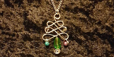 Christmas Tree Pendant Workshop