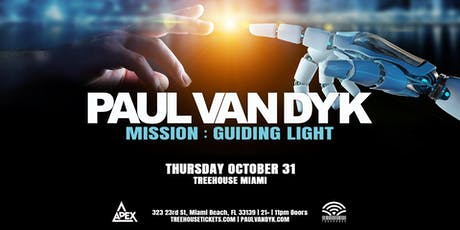 Paul Van Dyk @ Treehouse Miami tickets