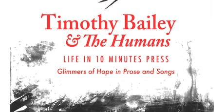 Timothy Bailey & The Humans tickets